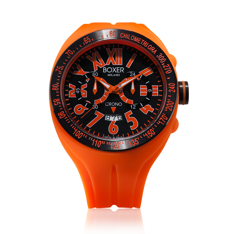 Boxer Milano - Chrono Orange