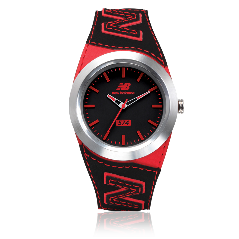 New Balance Watches - Style 574 Black - Red