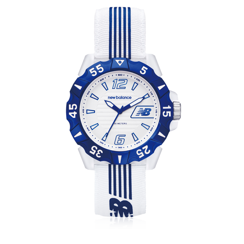 New Balance Watches - Style 504 White - Blue
